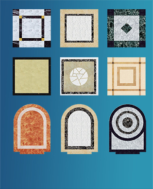 Floor Decoration Series