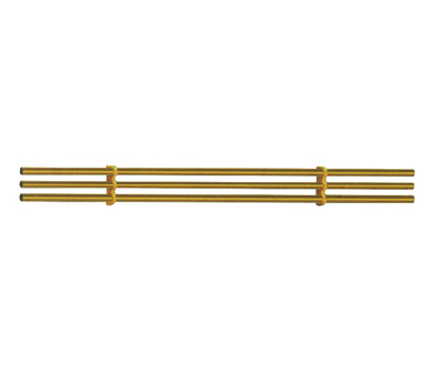 WBES-07B Triple combination of stainless steel tube titanium gold
