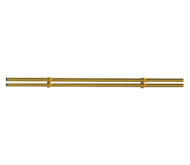 WBFS-02B  Double combination of stainless steel tube titanium gold