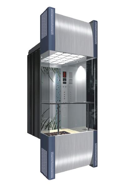 WBJX-G-01 Panoramic Elevator Car