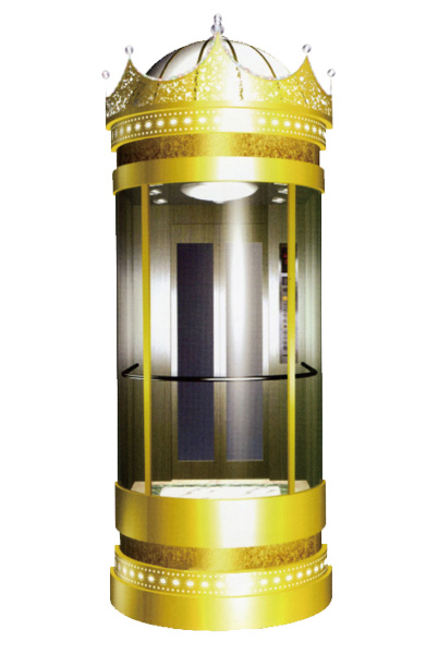 WBJX-G-08 Panoramic Elevator Car